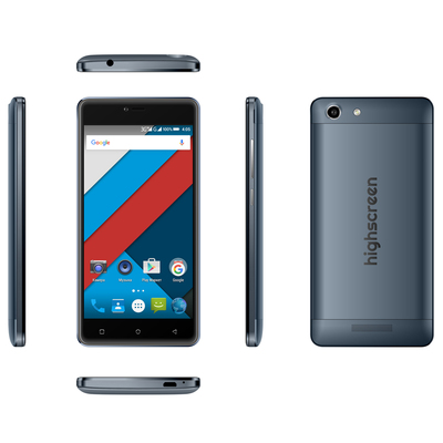 Смартфон Highscreen Power Rage Evo 3/16Gb, blue