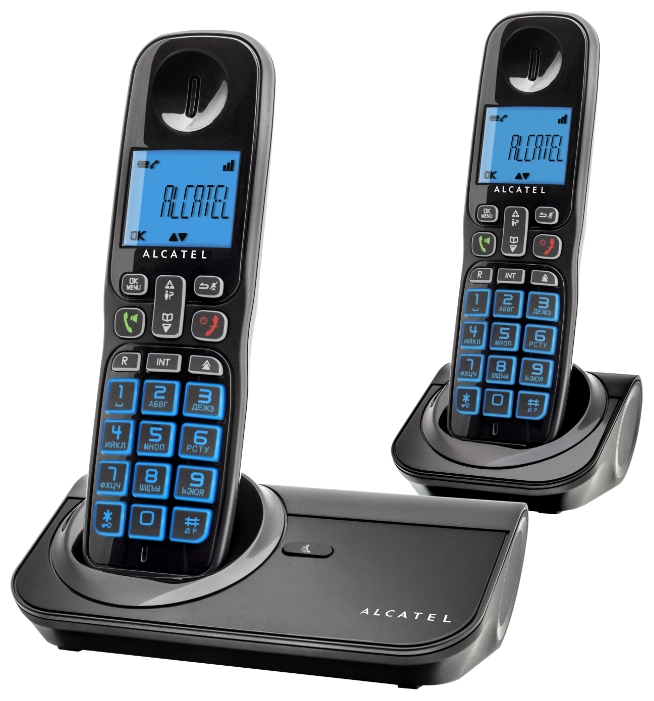 Радиотелефон Alcatel Sigma 260 duo DECT ALCATEL SIGMA 260 DUO