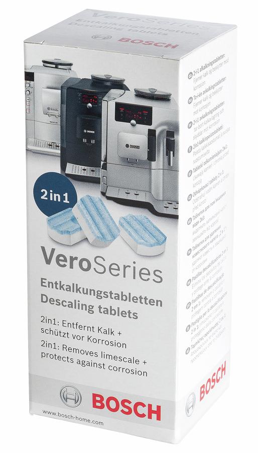 Bosch TCZ8002 (3 таблетки) - Средство от накипи; таблетки • от накипи, для кофемашин и кофе-автоматов Bosch
