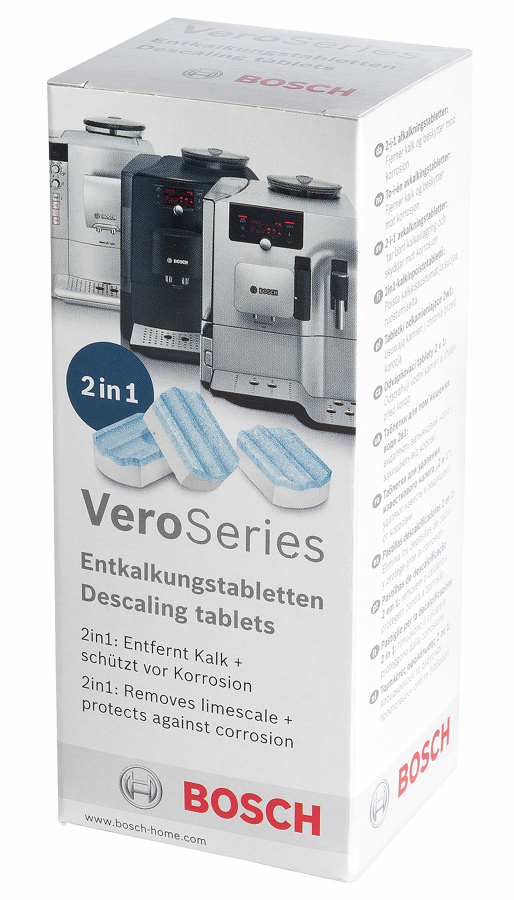 Чистящее средство Bosch TCZ8002 (3 таблетки)