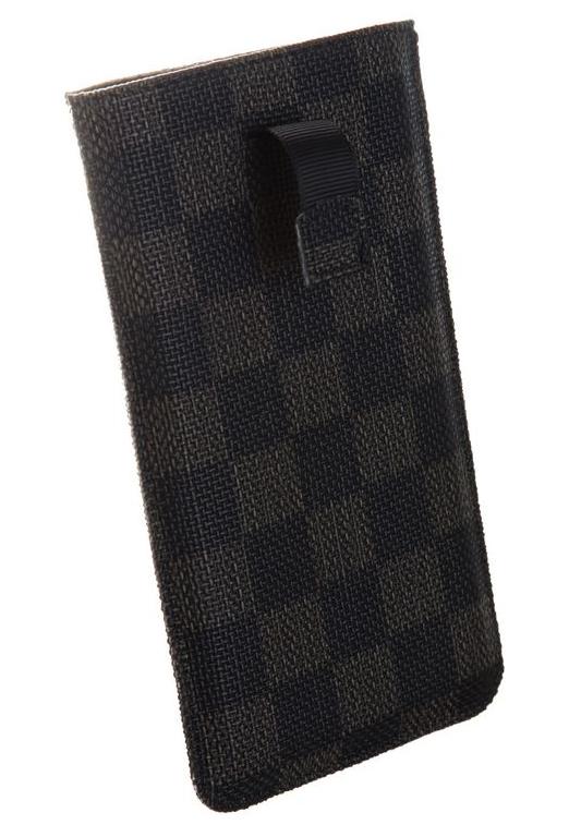 Чехол Time Norton универсальный, с ремешком, 132x68x9 мм, Black brown