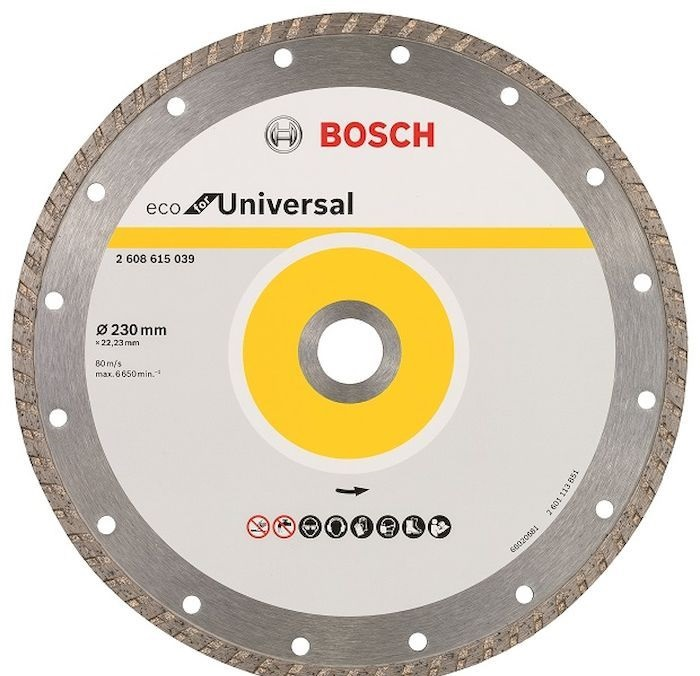Диск отрезной Bosch ECO Universal Turbo (2608615039)