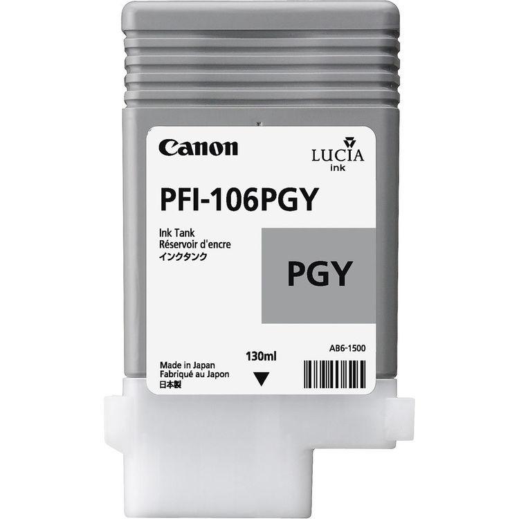 Картридж струйный Canon PFI-106 PGY, photo grey 6631B001