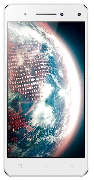 Lenovo Vibe S1 Dual Sim White - (Android 5.0; GSM 900/1800/1900, 3G, 4G LTE; SIM-карт 2; MediaTek MT6572, 1700 МГц; RAM 3 Гб; ROM 32 Гб; 2420 мА?ч; 13 млн пикс., светодиодная вспышка; есть, 8 млн пикс.; датчики - освещенности, приближения)