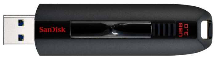 Флешка Sandisk Extreme USB 3.0 Flash Drive 64GB black
