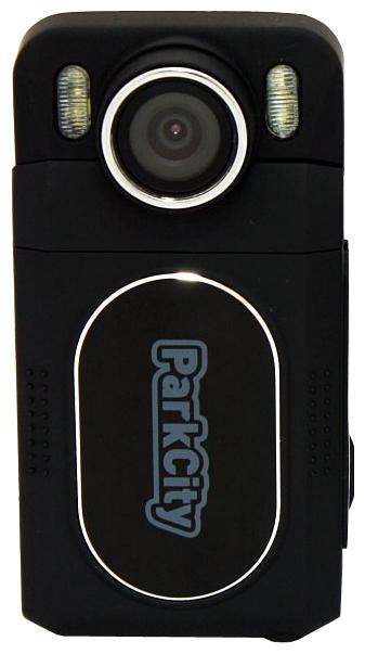 """ParkCity DVR HD 502 - (с камерой, с экраном; 1920x1080; каналов в/а - 1/1; 2 млн пикс.; 120° (по диагонали); ночной режим есть, ИК-подсветка; microSD (microSDHC) до 32 Гб; Экран 1.5""""; GPS-модуль нет)"""