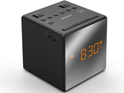 Sony ICF-C1T/B, black - радиобудильник; 1 Вт; FM/AM; настройка аналоговая; динамиков 1; элементы питания - 1xCR2032; питание от сети