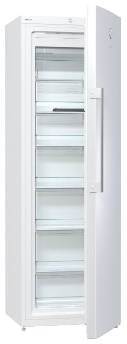 Gorenje FN 61 CSY2W white - (морозильник-шкаф, 277 л (клим.класс SN, T), компрессоров 1, камер 1, дверей 1. Мор-ник 243 л (разм. No Frost). ШГВ 60x64x185 см. Дисплей есть. Управление электронное. Энергопотр-е класс A+ (302 кВтч/год). белый / пластик/металл)