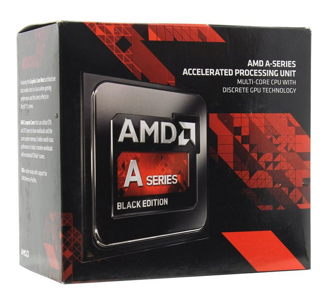 Процессор AMD A10-7860K Godavari (FM2+, L2 4096Kb), BOX AD786KYBJCSBX