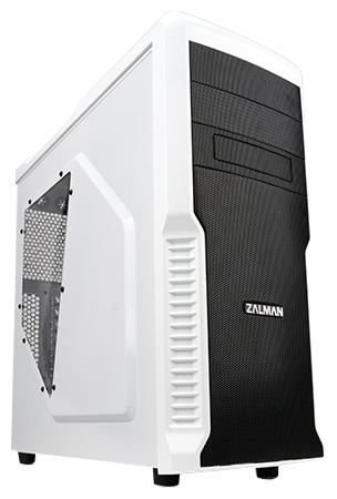 Корпус для компьютера Zalman Z3 Plus White (без БП)