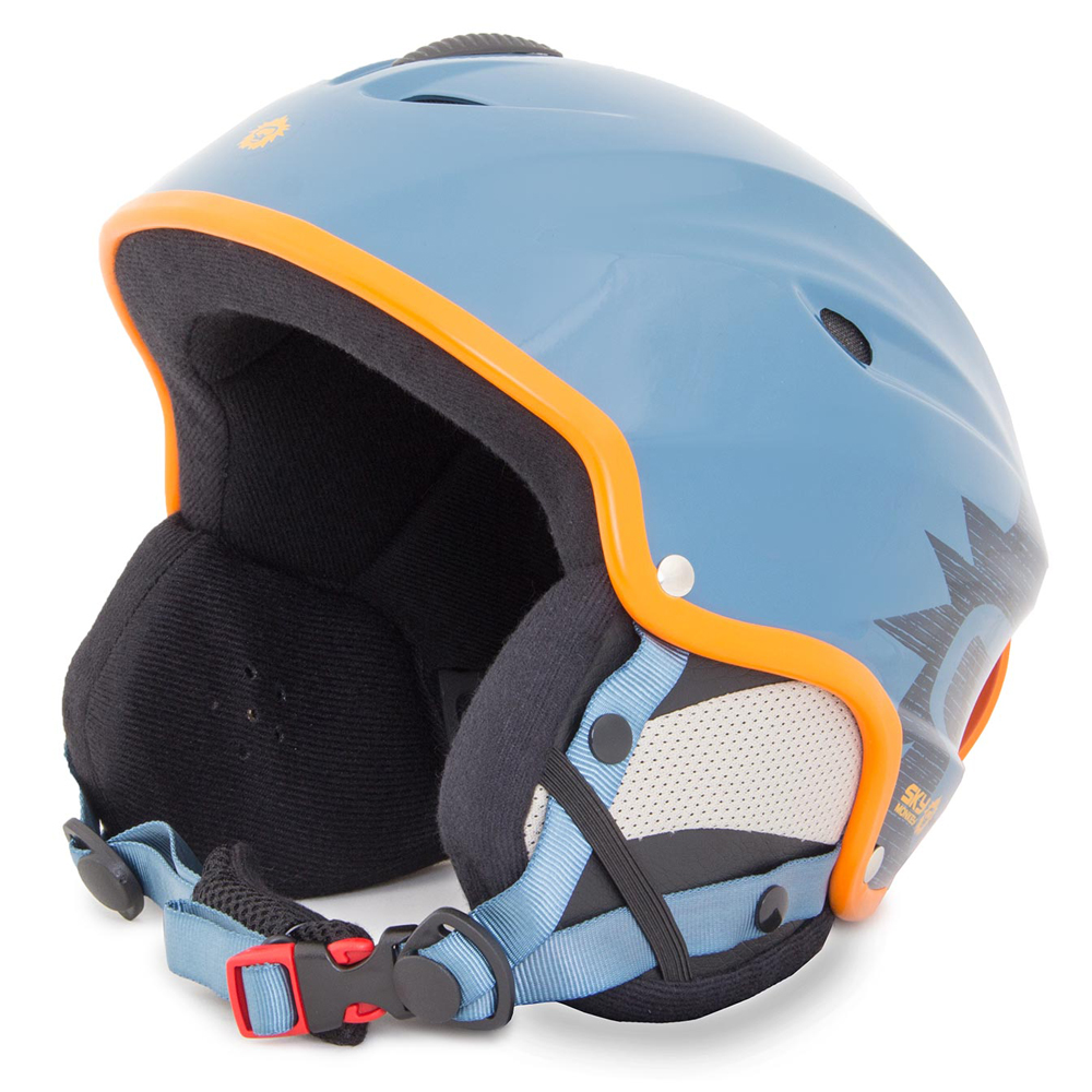 Шлем сноубордический Sky Monkey Shiny Blue/Grey (VS670) рXS(53-54)