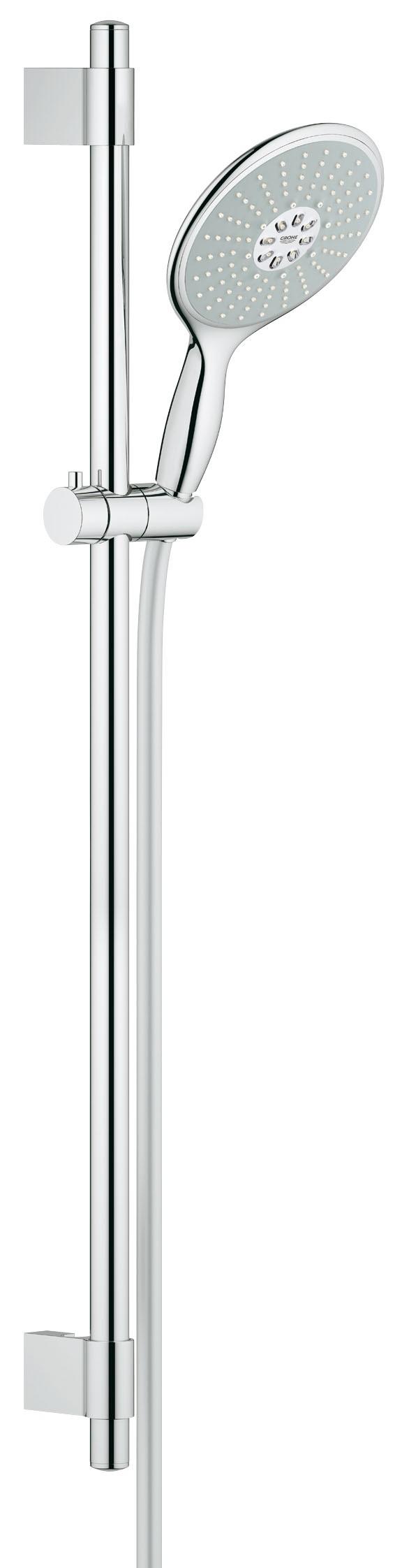 Grohe 27750000 Power&Soul 160 (ручной душ, штанга 900 мм, шланг 1750 мм) с ограничением расхода воды, хром