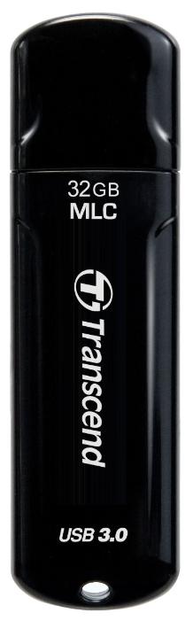 Флешка JetFlash 750, USB 3.0, Черный