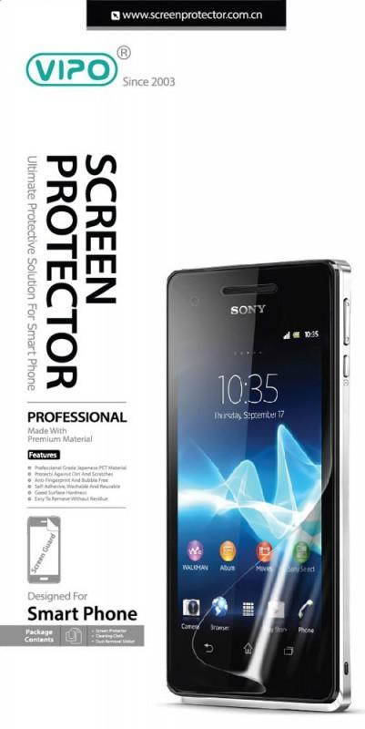 Vipo для Sony Xperia Z3 Compact, Clear - Прозрачная; 4.6 дюйма; для Sony Xperia Z3 Compact; бесцветная, прозрачная