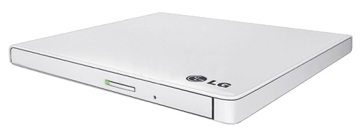 ������� ���������� ������ LG GP60NW60 (DVD�RW) USB ultra slim, White