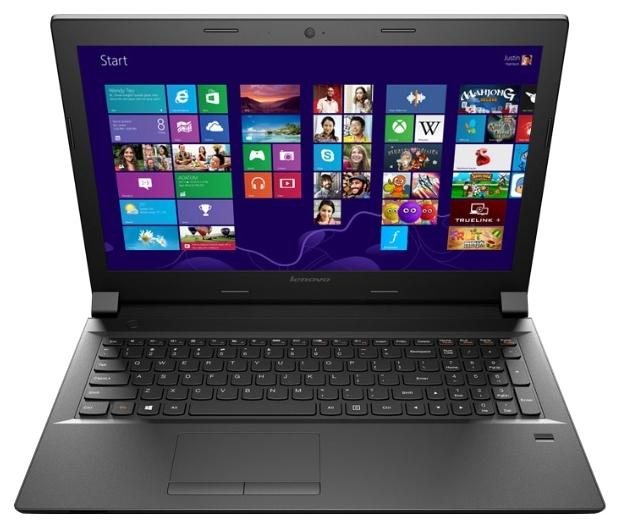 Lenovo B5070 59440364, Black - (Core i3 4030U 1900 МГц. Экран 15.6 дюймов, 1366x768, широкоформатный. ОЗУ 4 Гб DDR3L. Накопители HDD 500 Гб; DVD-RW, внутренний. GPU AMD Radeon R5 M230. ОС Windows 8.1)