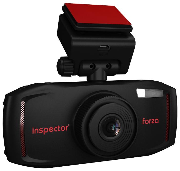 """Inspector Forza - (Запись видео: 1920x1080 при 30 к/с, 1280x720 при 60 к/с , экран 2.7"""", 960x240, угол обзора 140° (по диагонали), карты памяти microSD (microSDHC) до 32 Гб, ночной режим есть)"""