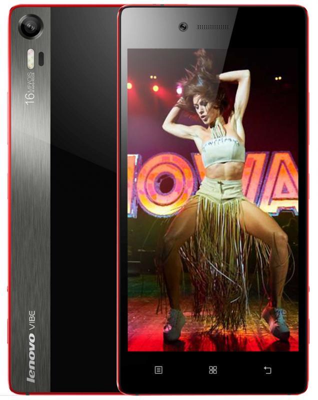 Lenovo Vibe Shot (Z90), Red - (Android 5.0; GSM 900/1800/1900, 3G, 4G LTE, LTE-A Cat. 4; SIM-карт 2; Qualcomm Snapdragon 615 MSM8939, 1700 МГц; RAM 3 Гб; ROM 32 Гб; 2900 мАч; 16 млн пикс., встроенная вспышка; есть, 8 млн пикс.; датчики - освещенности, приближения, гироскоп, компас)