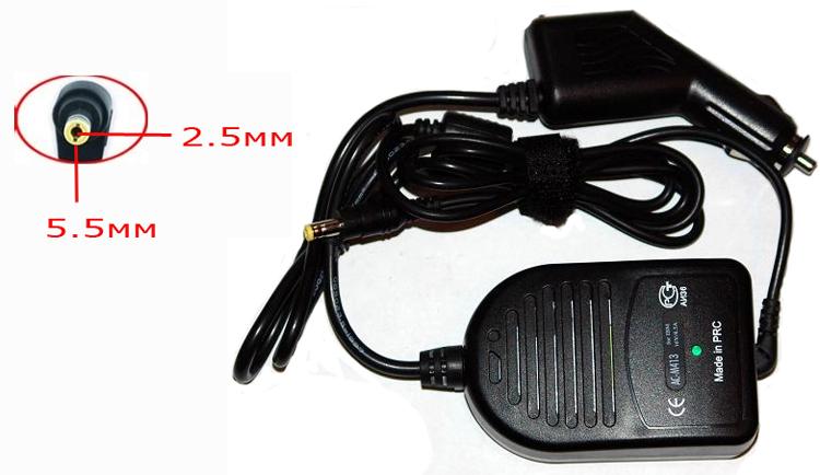 Блок питания автомобильный Palmexx для Toshiba 90W/19V/4,74A 5.5x2.5 pca-023