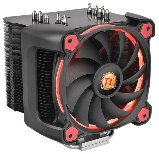 Процессорный кулер Thermaltake Riing Silent 12 Pro Red CL-P021-CA12RE-A