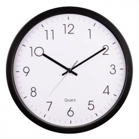 Часы настенные Hama PG-350 H-113976, black-white