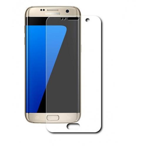 Защитная пленка LuxCase для Samsung Galaxy S7 EDGE НА ВЕСЬ ЭКРАН (Прозрачная)