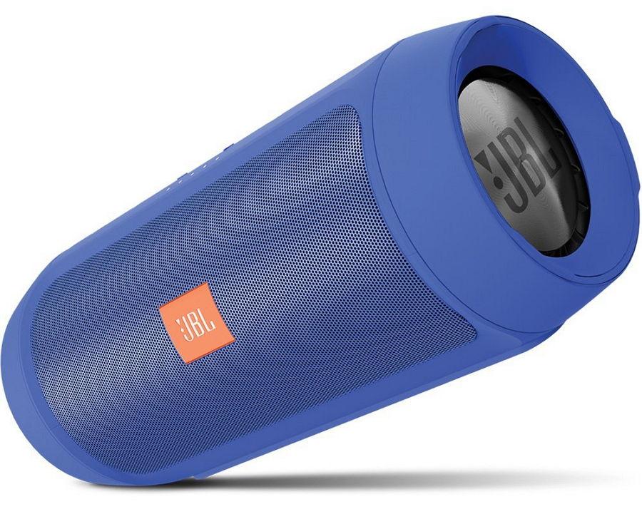 JBL Charge 2+, Blue - стерео; 75 - 20000 Гц; мощность 15 Вт; эл.питания - Li-Ion CHARGE2PLUSBLUEEU