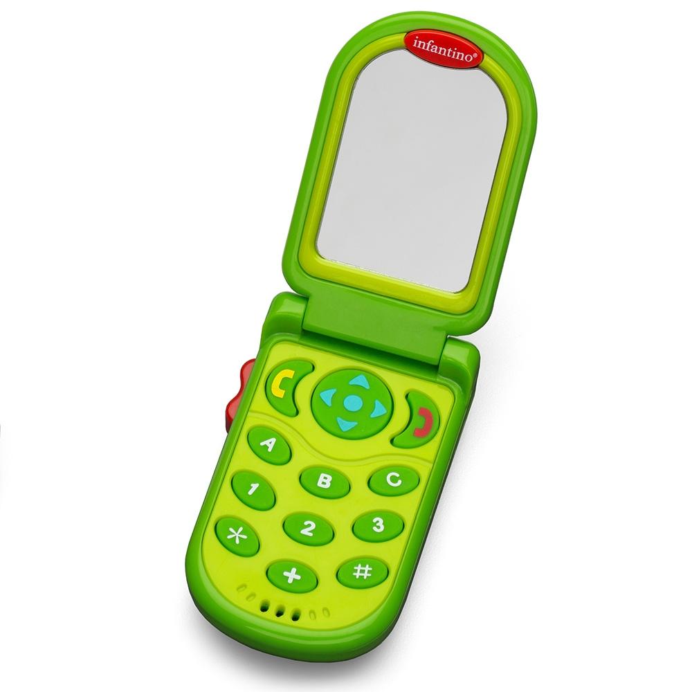 Развивающая игрушка Infantino Зеленый Телефон