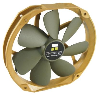Thermalright TY-141 - 140x140x25 мм140x152x27 мм; вентиляторов 1; 900 - 1300 об/мин; 4-pin PWM; 17 - 21 дБ; подсветка отсутствует;