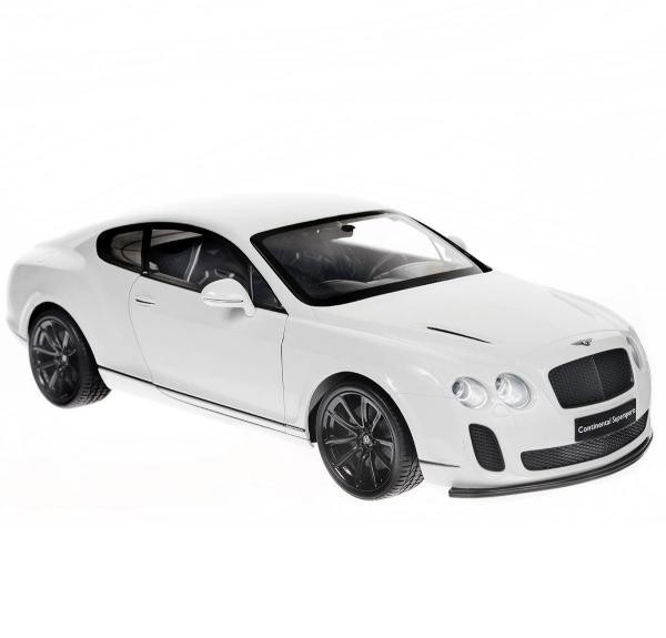 Радиоуправляемая игрушка Welly Bentley Continental Supersports, white