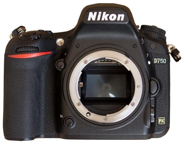 Фотоаппарат Nikon D750 Body, black VBA420AE