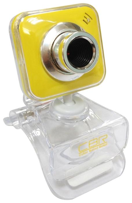 Веб-камера CBR CW 834M Yellow