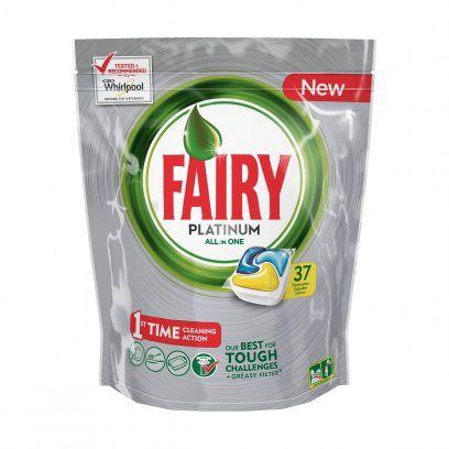 Средство для мытья посуды Fairy Platinum, Лимон, 37шт FR-81576422