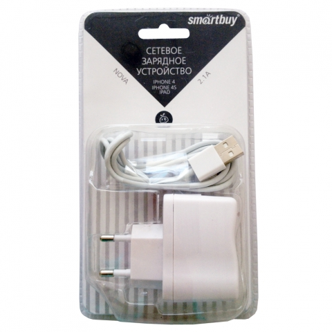 �������� ���������� SmartBuy NOVA USB - Apple 30pin 2.1�