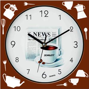 Часы настенные Scarlet SC - WC1001K