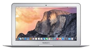 Apple MacBook Air MJVP2RU/A - (Core i5 1600 МГц. Экран 11.6 дюймов, 1366x768, широкоформатный. ОЗУ 4 Гб LPDDR3 1600 МГц. Накопители SSD 256 Гб; DVD нет. GPU Intel HD Graphics 6000. ОС MacOS X)
