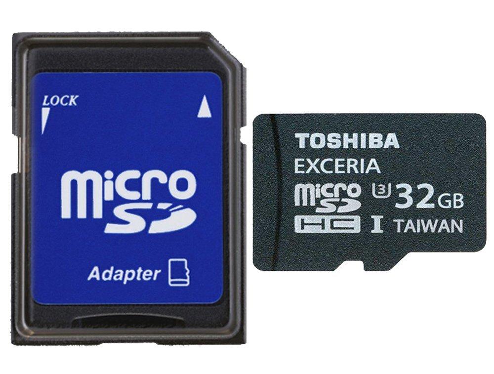 Карта памяти Toshiba SD-CX32UHS1(6A, Exceria, 32Gb, microSDHC, U3, SD-адаптер