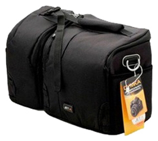 Сумка для фотокамеры Jet.A CB-12 - Нейлон, полиэстер, фиксация на поясном ремне, ручка для переноски, плечевой ремень