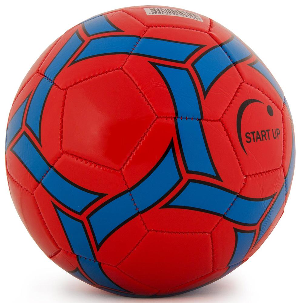 Мяч футбольный для отдыха Start Up E5120 красн/син р5