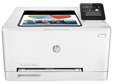 HP Color LaserJet Pro M252dw - (A4; печать цветная; лазерная; двухсторонняя есть • Интерфейсы: Ethernet (RJ-45), USB 2.0 • Печать на: карточках, пленках, этикетках, фотобумаге, глянцевой бумаге, конвертах, матовой бумаге)