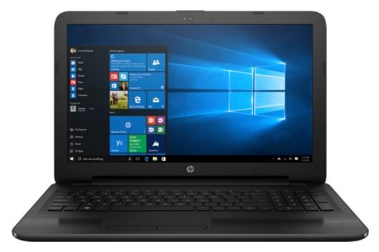 HP 255 G5 W4M77EA black - (AMD E2 7110 1800 МГц. Экран 15.6 дюймов, 1366x768, широкоформатный. ОЗУ 4 Гб DDR3L 1600 МГц. Накопители HDD 1000 Гб; DVD-RW, внутренний. GPU AMD Radeon R2. ОС DOS)