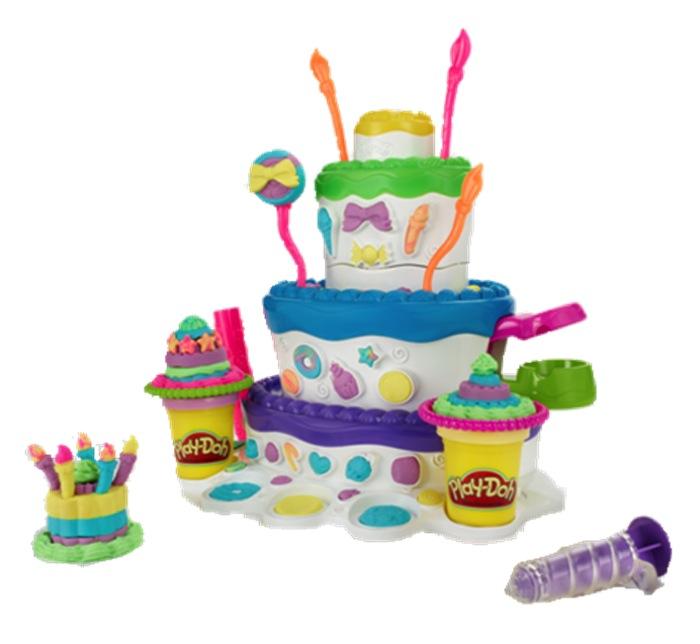 Hasbro play - doh, праздничный торт