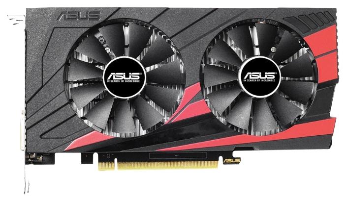 Видеокарта ASUS GeForce GTX 1050 Ti 1341Mhz PCI-E 3.0 4096Mb 7008Mhz 128 bit DVI HDMI HDCP Expedition OC EX-GTX1050TI-O4G