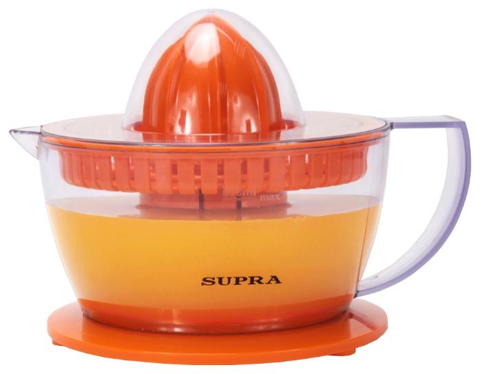 Соковыжималка Supra JES-1027, 25 Вт, количество сменных насадок: 2
