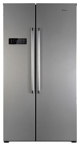 Candy CXSN 171 IXN - (холодильник с морозильником, 503 л (клим.класс SN, ST), отдельно стоящий, компрессоров 1, камер 2, дверей 2. Хол-ник 336 л (разм. No Frost). Мор-ник 167 л, Side by Side (разм. No Frost). ШГВ 90x70x178 см. Дисплей есть. Управление электронное. Энергопотр-е класс A (493 кВтч/год). серебристый / пластик/металл)
