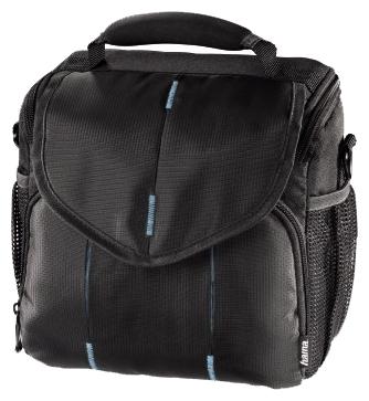 HAMA Canberra 130, blue/black - текстиль, внешний карман: есть, защита от воды: есть 00103678
