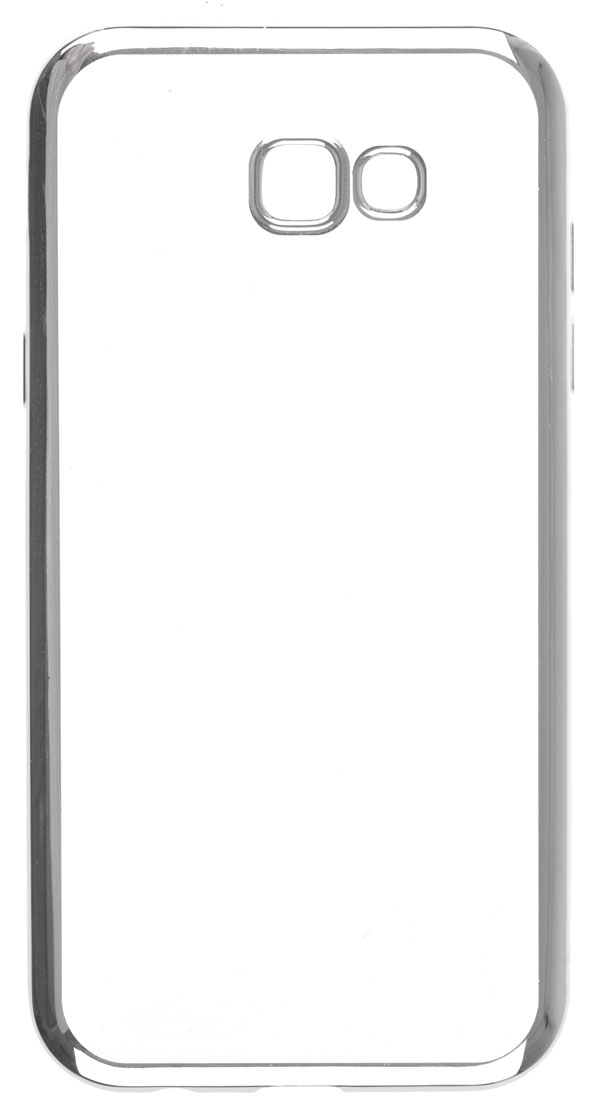 Чехол SkinBox 4People T-S-SGA72017-008, для Samsung Galaxy A7 (2017), Silver