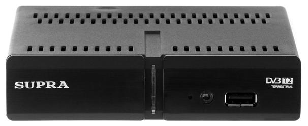 Supra SDT-91 - Исполнение внешнее; автономный; DVB-T, DVB-T2; HD - 720p, 1080i, 1080p; видеозахват - нет; пульт ДУ - есть • Формат