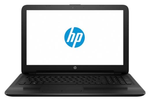 HP 15-ba045ur X5C23EA black - (AMD E2 7110 1800 МГц. Экран 15.6 дюймов, 1366x768, широкоформатный. ОЗУ 4 Гб DDR3L 1600 МГц. Накопители SSD 128 Гб; DVD нет. GPU AMD Radeon R2. ОС DOS)