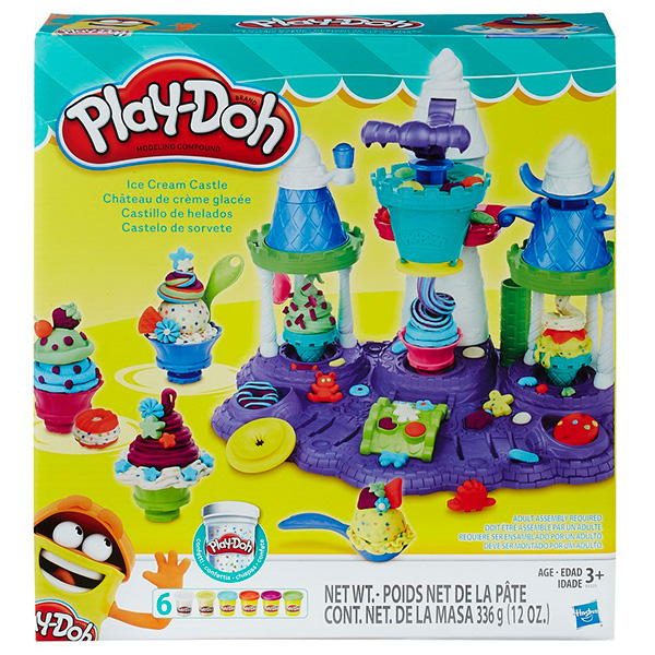 Hasbro Play-Doh Замок мороженого